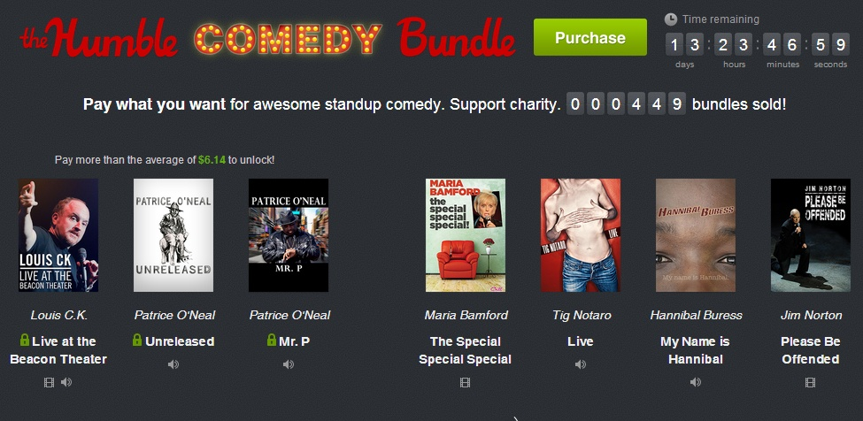 Humble Comedy Bundle